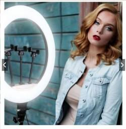 Ring Light Profissional Iluminador Vídeo Maquiagem YouTube Blogueira Consultório Studio
