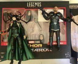Título do anúncio: Marvel Legends - Thor Ragnarok - Hela e Skurge