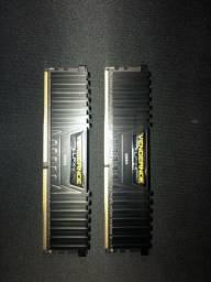 Memoria corsair 2x 4 gigas 2400 mhz