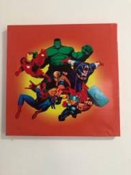 Quadro super-heróis