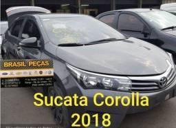 Venda de Peças Corolla 2018