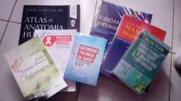 Vendo kit de livros enfermagem nível faculdade