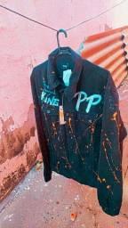 Título do anúncio: jaquetas customizadas pintadas a mão