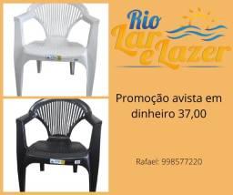 Cadeiras plastico oferta