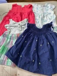 Título do anúncio: Lote de vestidos p/ menina