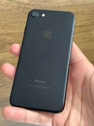 iPhone 7 128GB Preto Matte - Até 12x no cartão! Semi novo, perfeito 128 GB 32