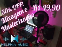 Mixagem e Masterização Helphia Music