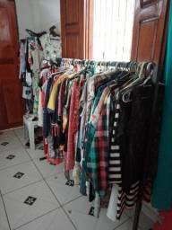 roupas variadas (brecho)