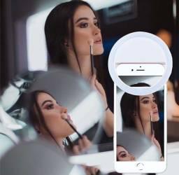 Clipe Anel Luz Pra Selfie Ring Light Flash Celular Universal