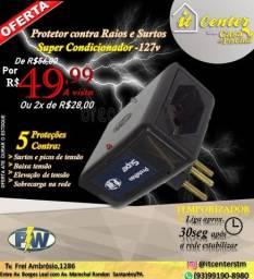 Proteto contra Raios e Surtos Super Condicionador 127v