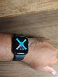Smartwatch X7. Preto e Branco