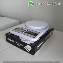 Balanca 10Kg Original Digital Flat Premium Compra Facil