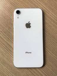 iPhone XR 64gb branco impecável! Bateria 92%!