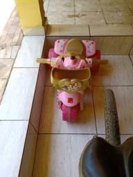 Moto elétrica princesas