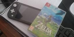 Título do anúncio: Nintendo Switch Lite + Zelda