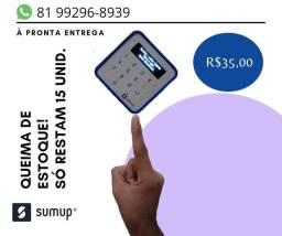 MAQUINETAS SUMUP; R$35,00
