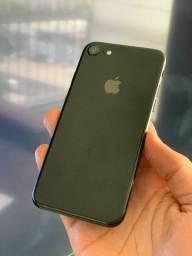 iPhone 7 128GB Preto Jetblack - Saúde da bateria 100%! Até 12x no cartão! 128 GB