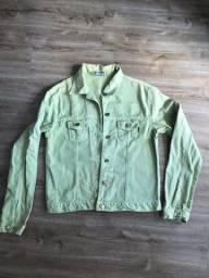 Jaqueta de sarja tamanho G