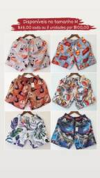 Shorts moda praia disponíveis