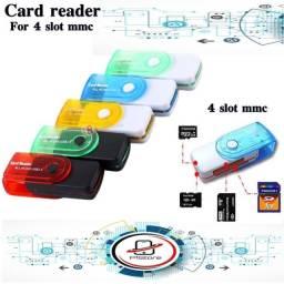 Pendrive Case Para Cartão De Memoria 15 In 1 Leitor de Cartão de Memória 15 em 1 Usb 2.0