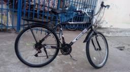 Título do anúncio: Vende-se uma bicicleta aro aro 24 21 marcha semi nova