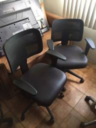 R$ 460 Cadeiras Giratórias para recepção / escritório (Posso vender separadamente)