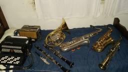Instrumentos diversos.