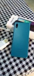 Samsung a02 em estado de novo 500 reais