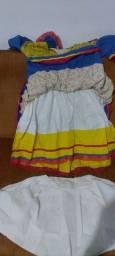 Lindo vestido de festa junina