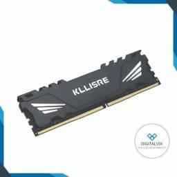 Memória PC   Kllisre - 4GB DDr3 1333Mhz (Amd/Intel) / (NOVO! - Garantia   1 ano)