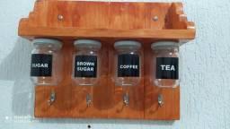 Suporte cantinho do café