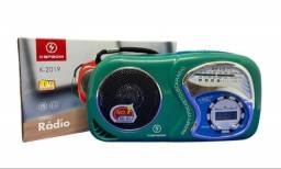 Título do anúncio: Mini Rádio Relógio AM/FM