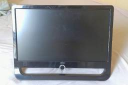 Monitor Aoc F19l 18,5 Polegadas para retirada de peças ou conserto