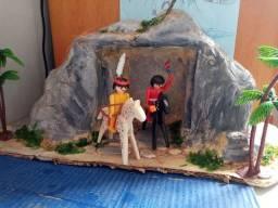 Playmobil vintage índios Apaches