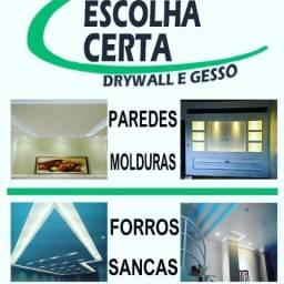Escolha Certa Drywall e Gesso