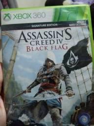 Vendo ou trico jogo assassins Creed IV Black flag para xbox 360