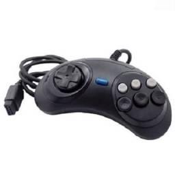 Controle de Mega Drive com 6 Botoes