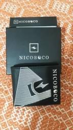 Carteira de couro 100% original Nicoboco.