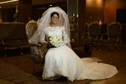 Vendo vestido de noiva em ótimo estado