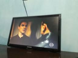 "TV 24"""" SAMSUNG, NOVA ,HDMI,pan drive + suporte, VD ou TRC"