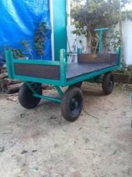 Carro plataforma 600kg