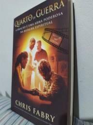 Livro Quarto de Guerra - Chris Fabry NOVO