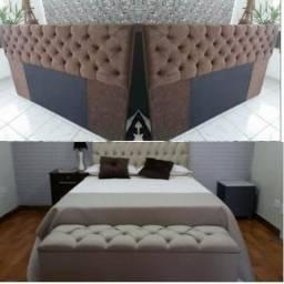 Promoção cabeceira e baú pé cama 340 reais