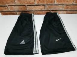 Shorte Nike e Adidas (P, M, G e GG)