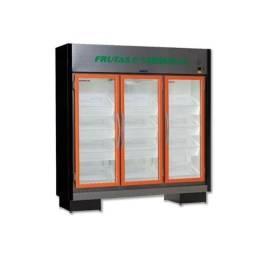 Expositor Hortifruti 3 portas com caixas- Jm Thatiane