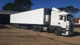 Scania r380 com carreta niju 28 p