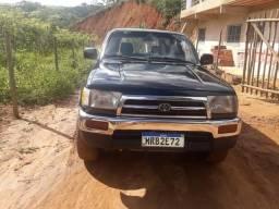 Vendo troco hilux sw4 gasolina automatica 3.4v6 4x4 - 1998