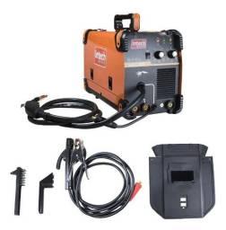 Inversora de Solda Intech Machine MIG-MAG, MMA e TIG 160A Smig160 ? 220V