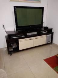 TV LG 42 polegadas + Rack