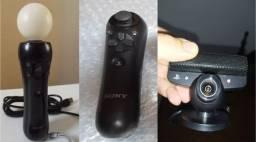 Kit Controle De Movimento Move com bola e sem bola + Câmera + Jogo Original